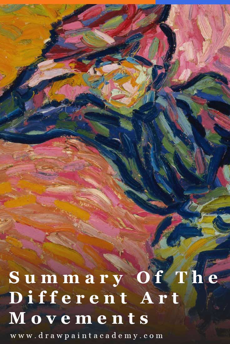 Summary Of The Different Art Movements. A timeline of the art movements which occurred from 1870s to 1990s. There is much to learn from the great artists who came before us. #arthistory