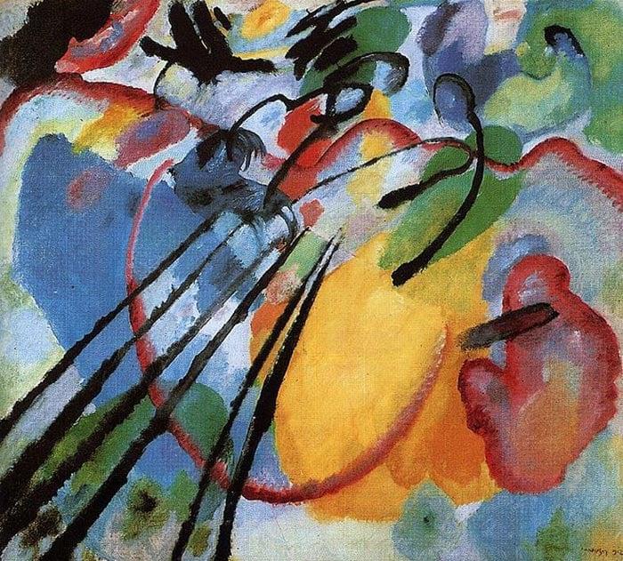 Wassily Kandinsky, Improvisation 26, 1912