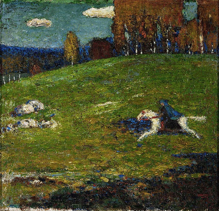 Wassily Kandinsky, The Blue Rider, 1903