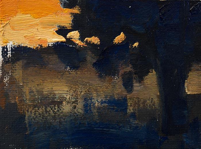 Color Study - Part 3. Sunset.