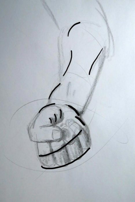 Hand Drawing - Implied Lines