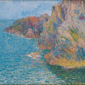 John Russell, La Pointe de Morestil, Calm Sea, 1901