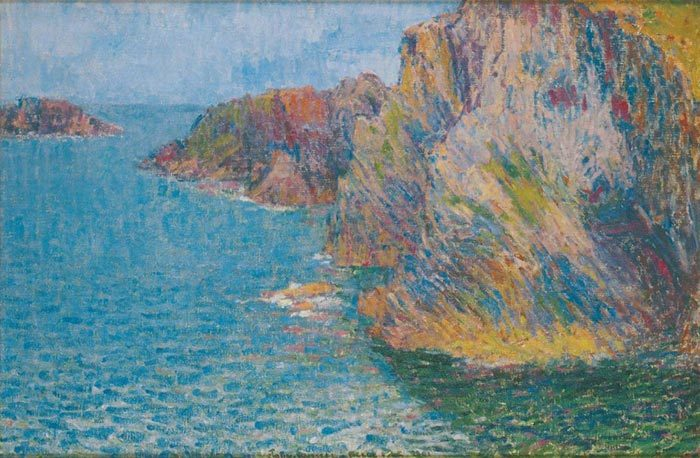 John Russell, La Pointe de Morestil, Calm Sea, 1901