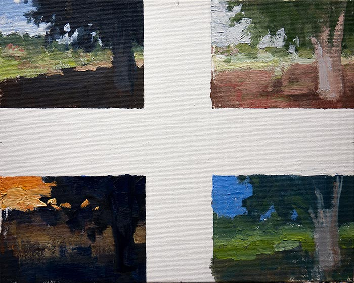 New Farm, Color Studies, Sept 2018