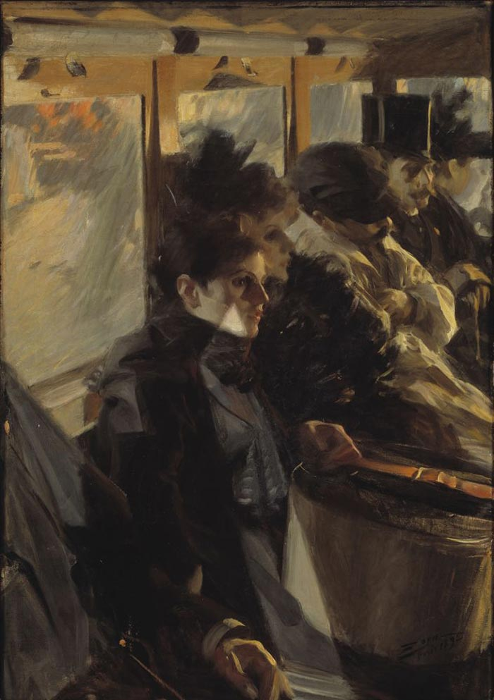 Anders Zorn, Omnibus II, 1892