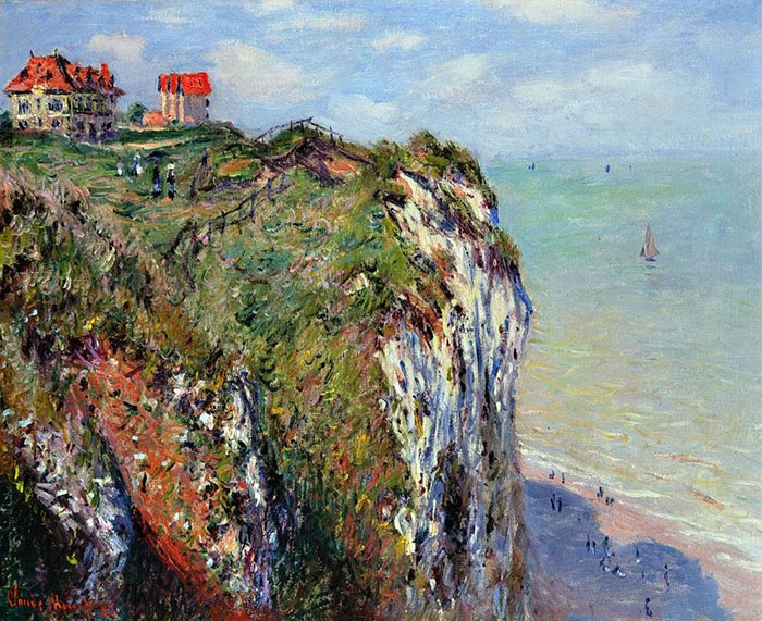 Claude Monet, Rock in Dieppe, 1882