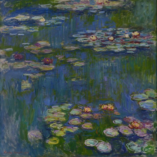 Claude Monet, Water Lilies, 1916