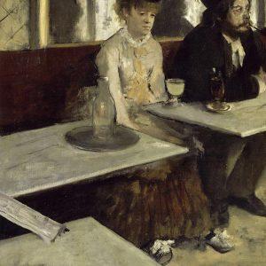 Edgar Degas, L'Absinthe, 1875-1876