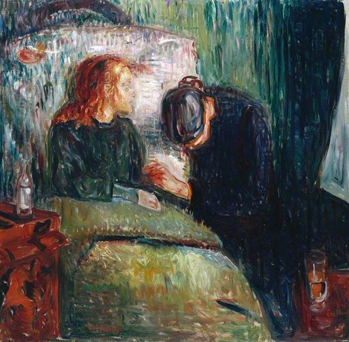 Edvard Munch, The Sick Child (Det Syke Barn), 1885