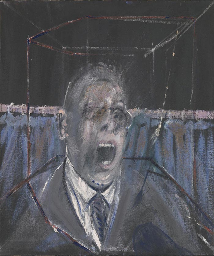 Francis Bacon, Businessman I, 1952 or Man's Head, 1952