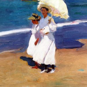 Joaquín Sorolla, On the Coast, 1906