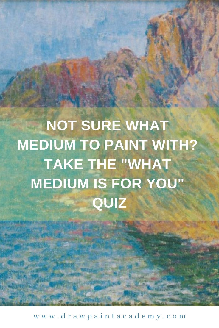 Not sure what medium to paint with? Take the \
