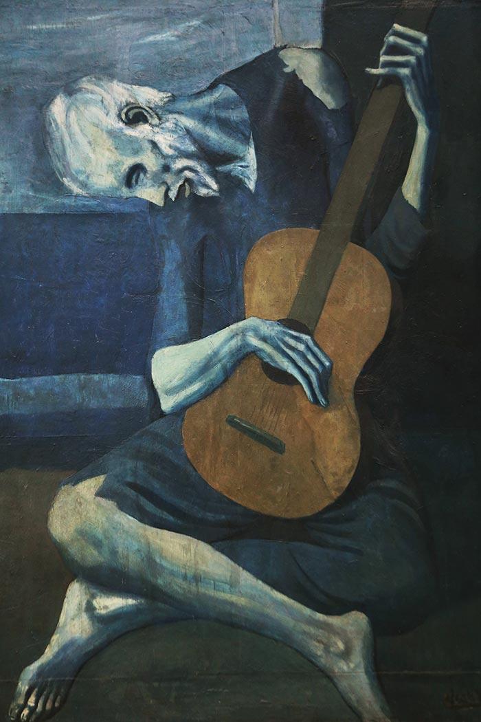 Pablo Picasso, Old Guitarist, 1903