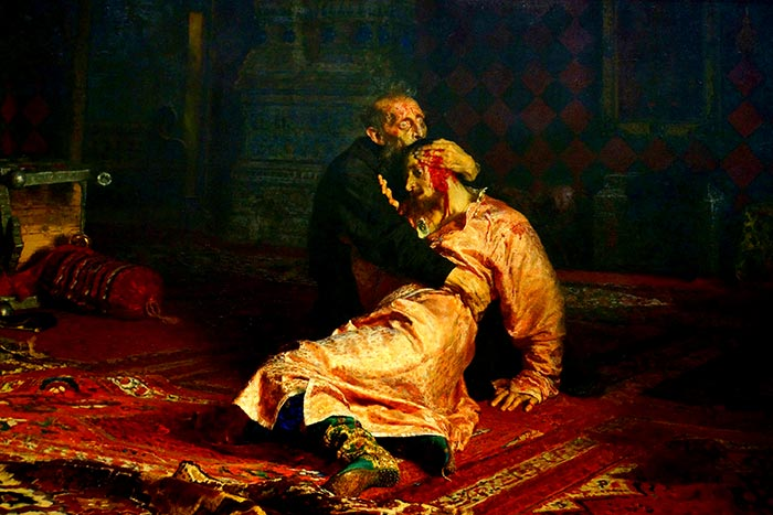Ilya Repin, Ivan the Terrible and His Son Ivan, 1885