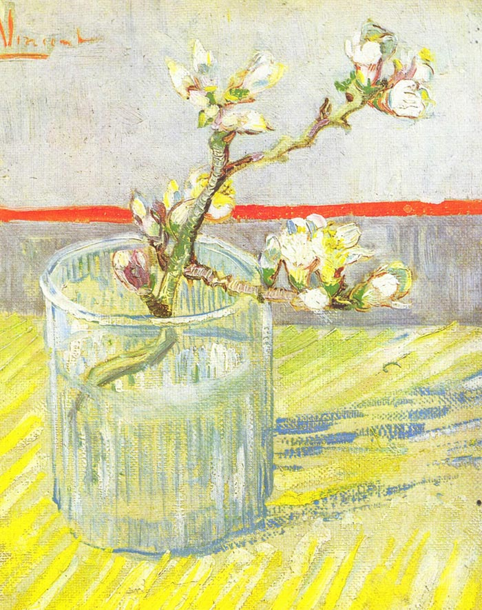 Vincent van Gogh, The Branch of a Flowering Almond, 1888