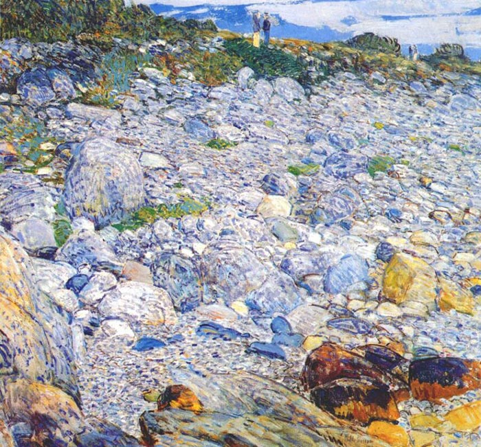 Childe Hassam, Rocky Beach, Appledore, 1913