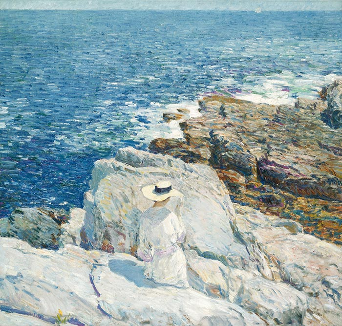 Childe Hassam, The South Ledges, Appledore, 1913