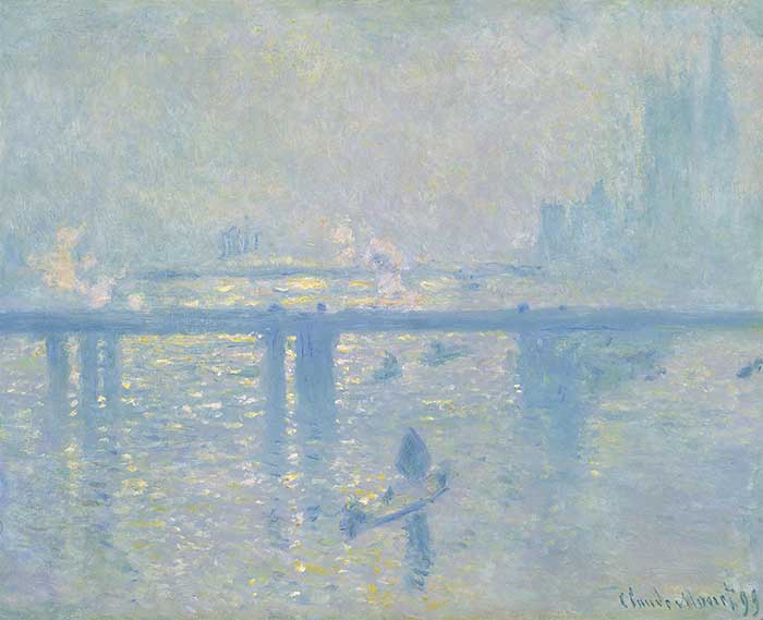 Claude Monet, Charing Cross Bridge, 1899