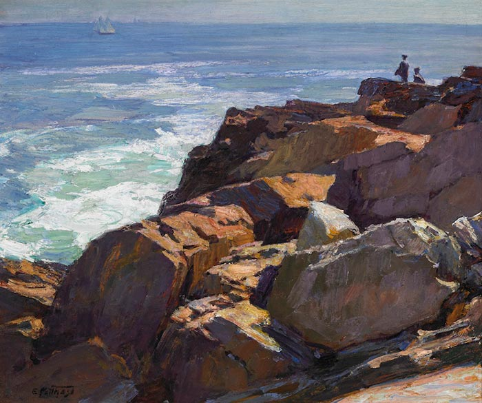 Edward Potthast, Rockbound Coast, Ogunquit