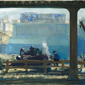 George Bellows, Blue Morning, 1909