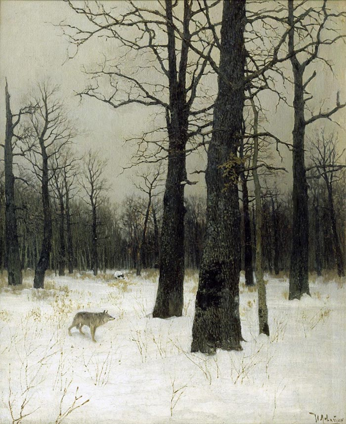 Isaac Levitan, Winter in the Forest, 1885