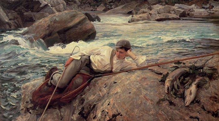 John Singer Sargent, Holiday, Norway, 1901