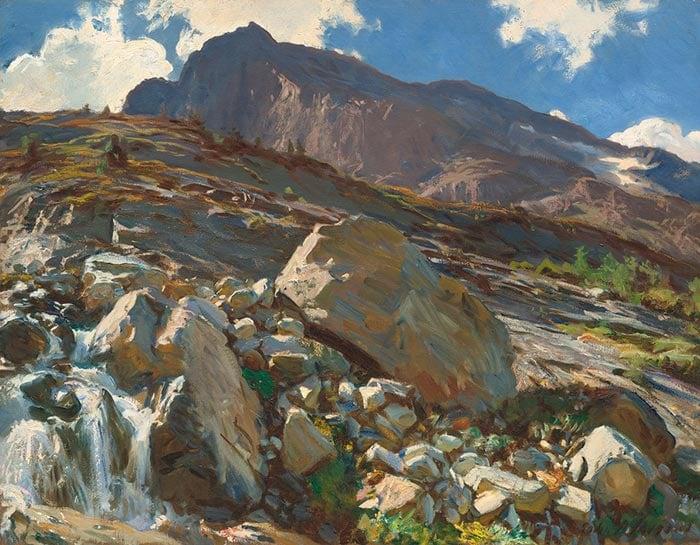 John Singer Sargent, Simplon. Pass, 1911