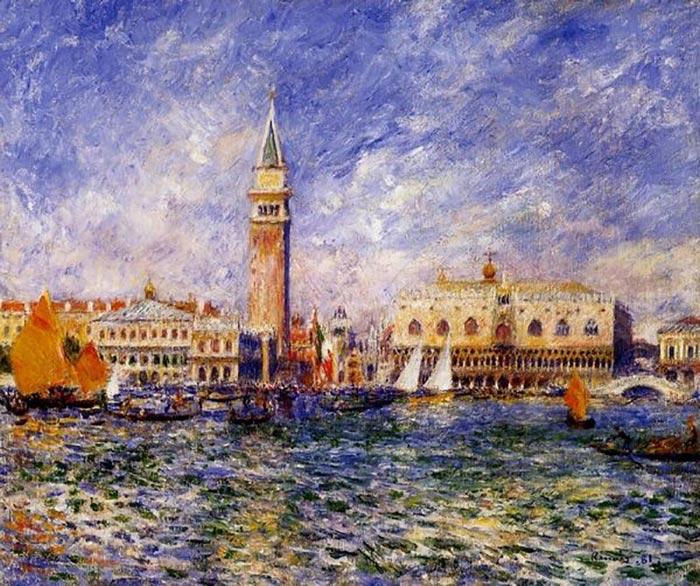 Pierre-Auguste Renoir, The Doge's Palace, Venice, 1881