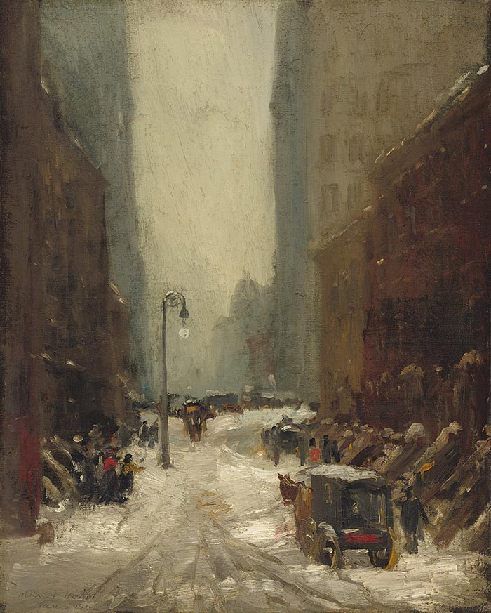 Robert Henri, Snow in New York, 1902