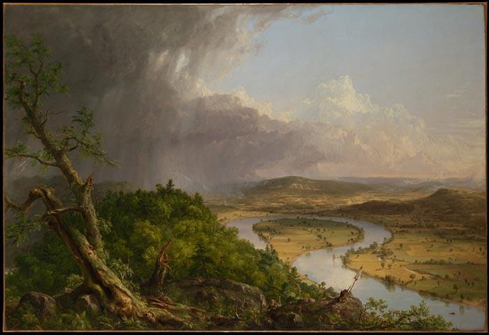 Thomas Cole, The Oxbow, 1836