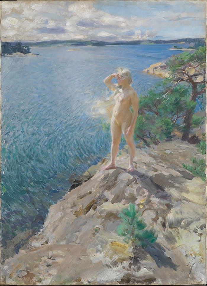Anders Zorn, Havsnymf, 1894