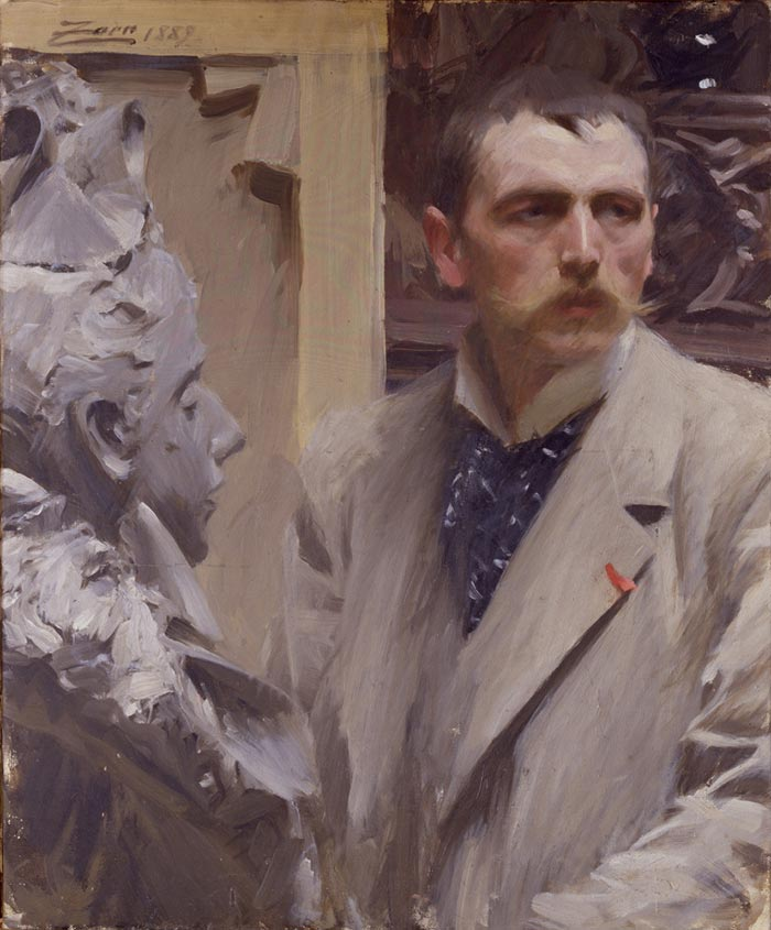 Anders Zorn, Self-Portrait, 1889