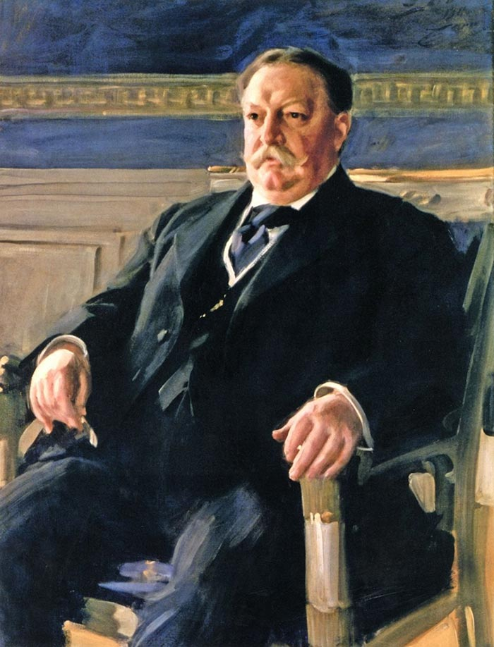 Anders Zorn, presidente de los Estados Unidos William Howard Taft, 1911