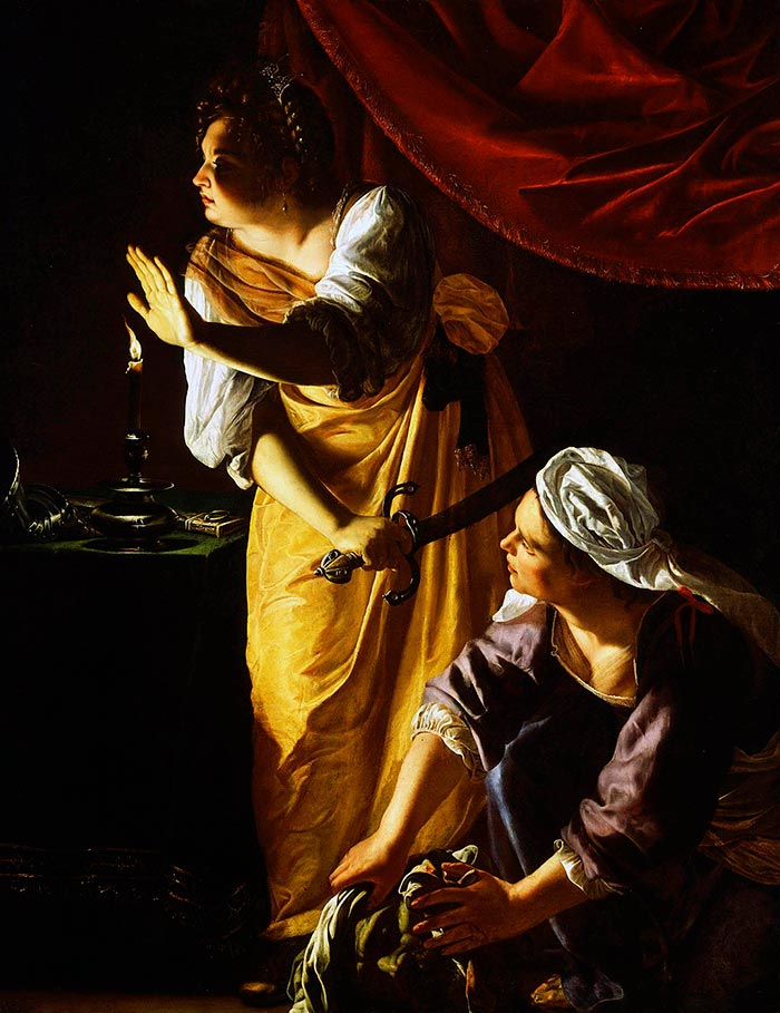 Artemisia Gentileschi, Judith and her Maidservant, 1625