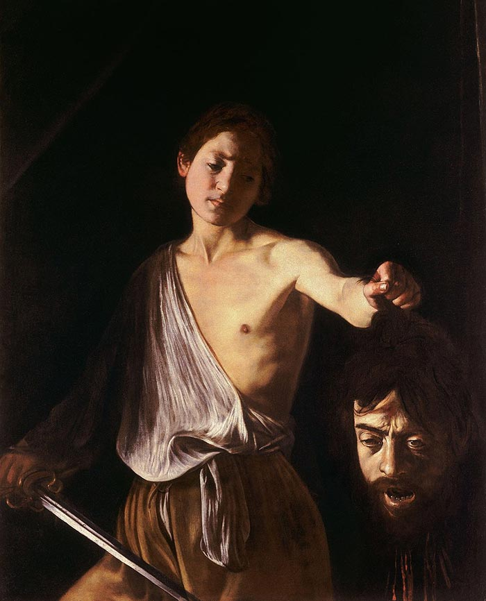 Caravaggio, David with the Head of Goliath, 1610
