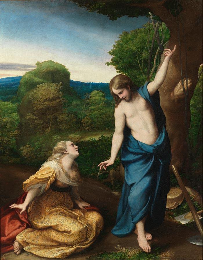 Correggio, Noli Me Tangere, c.1525