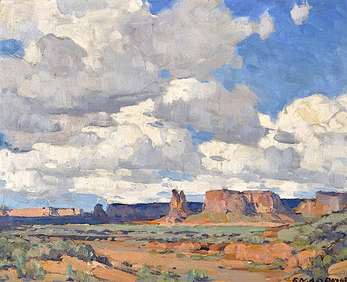 Edgar Alwin Payne, Canyon de Chelly