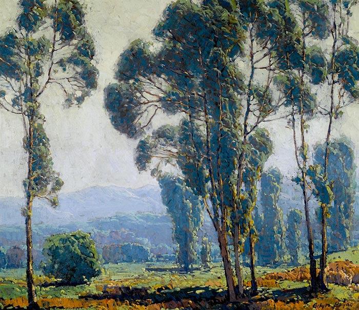 Edgar Alwin Payne, Eucalyptus