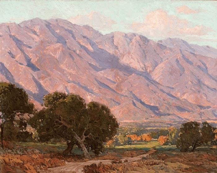 Edgar Alwin Payne, Hills of Altadena, 1917–1919