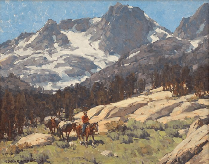 Edgar Alwin Payne, Pack Train in the High Sierra, 1930s