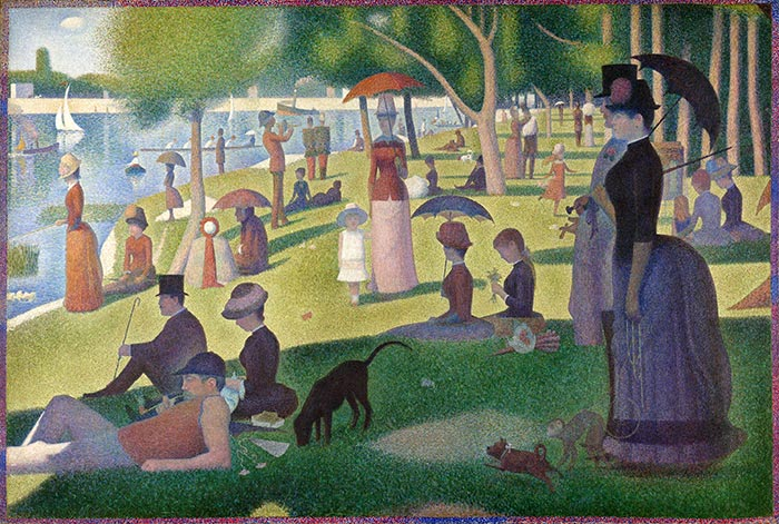 Georges Seurat, A Sunday on La Grande Jatte, 1884