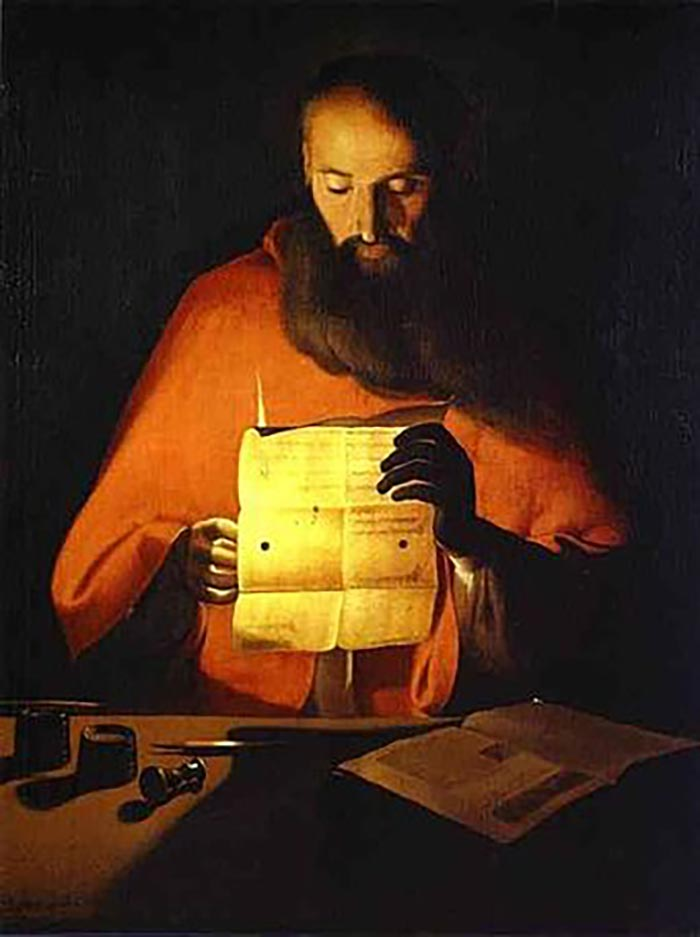Georges de La Tour, Saint Jerome Reading
