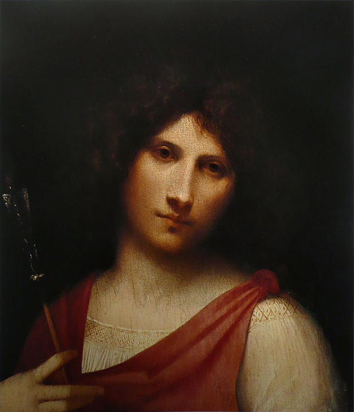 Giorgione, Youth Holding an Arrow, 1505