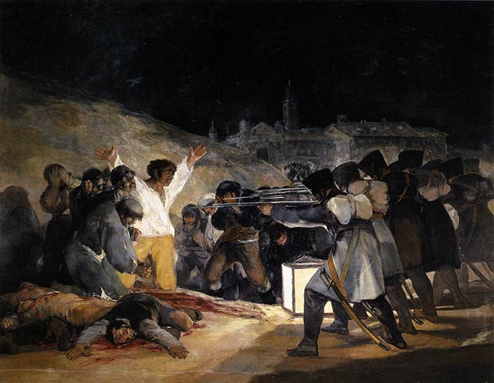 Goya, The Third of May 1808, 1814