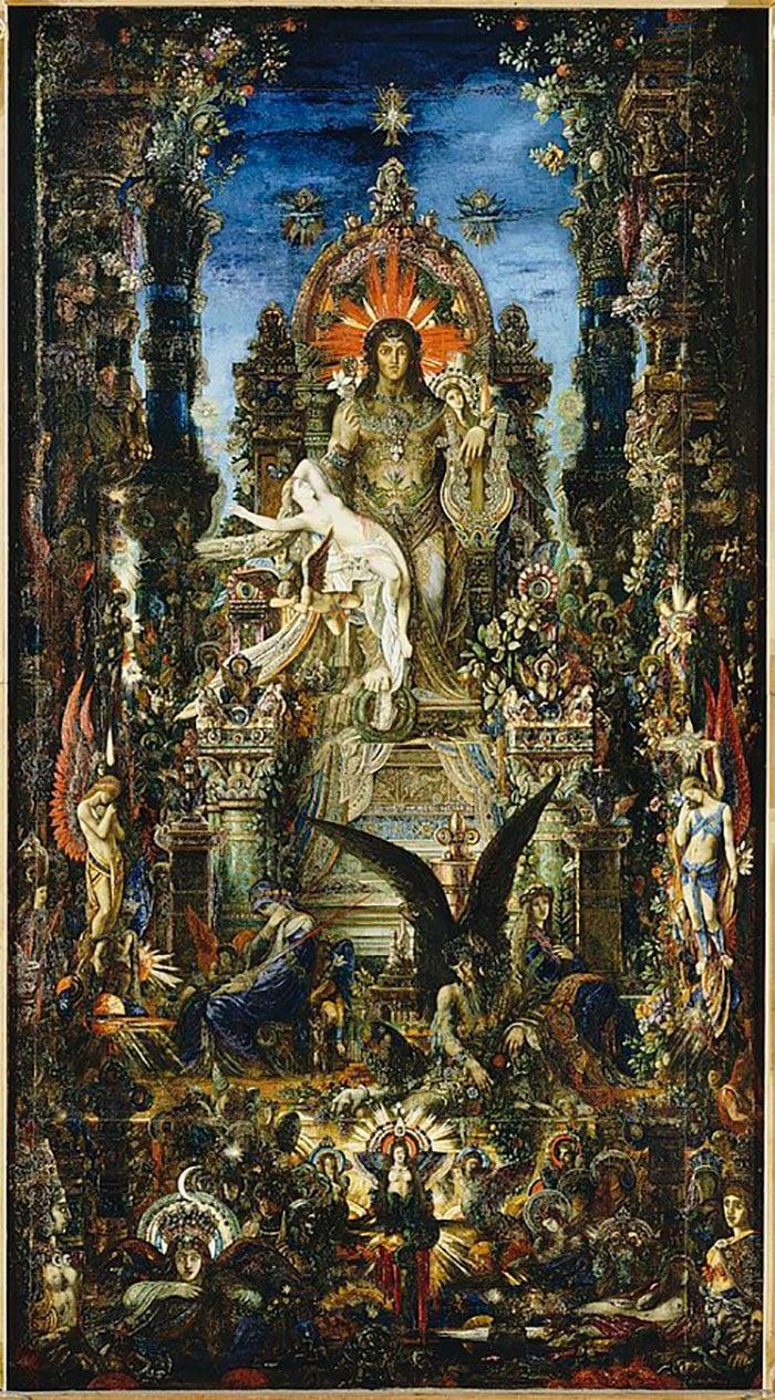 Gustave Moreau, Jupiter and Semele, 1894–1895