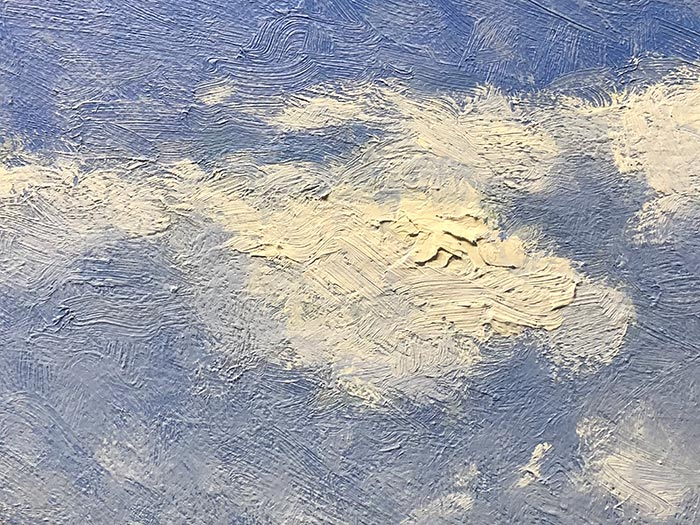 Honeymoon Bay Painting - Detail (1)