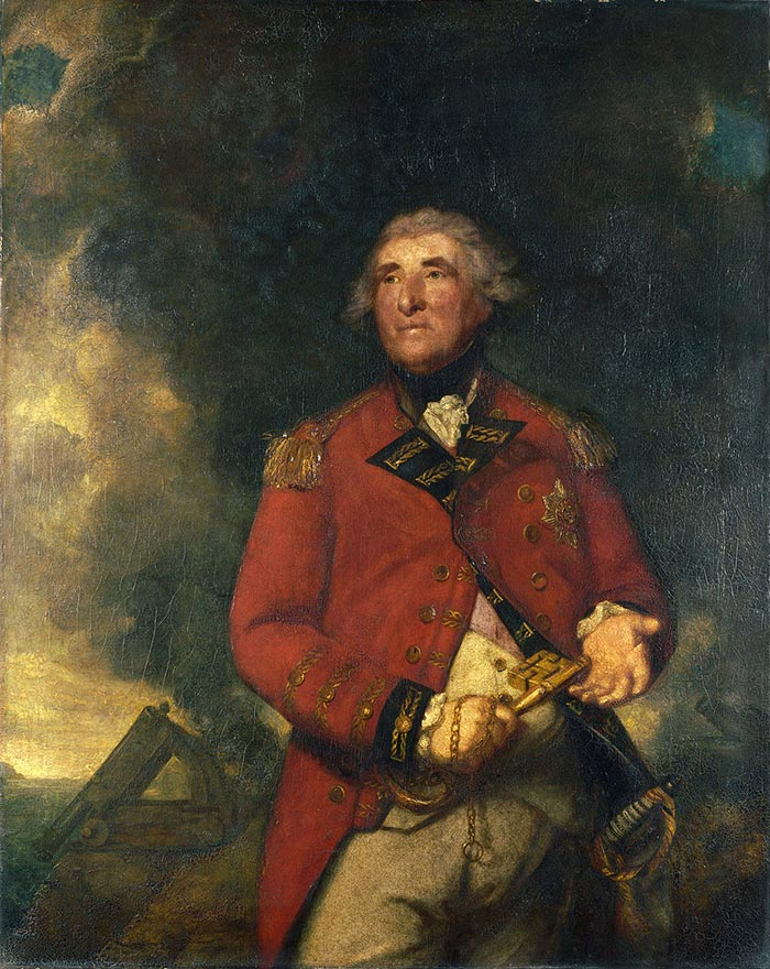 Joshua Reynolds, Lord Heathfield, 1787