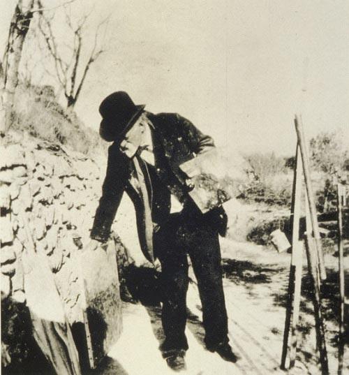 Ker-Xavier Roussel, Photo of Paul Cezanne, 1906