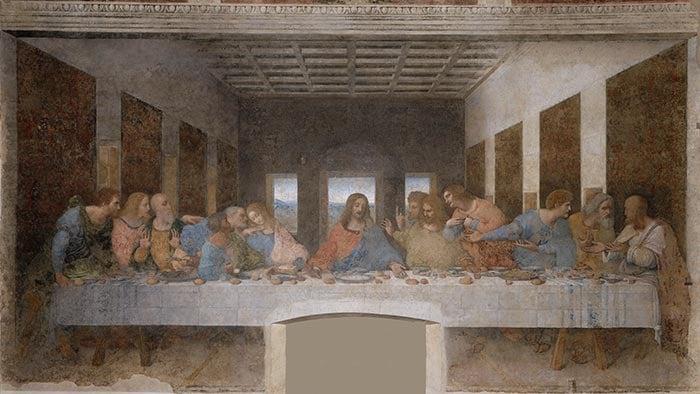 Leonardo da Vinci, The Last Supper, 1490's