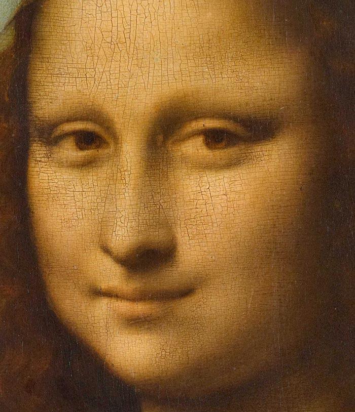Leonardo da Vinci, Mona Lisa, c.1503–06 - Detail